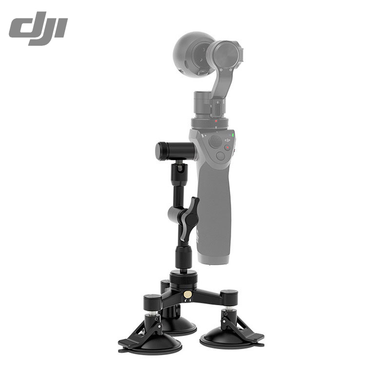 ФОТО original dji osmo  car mount for osmo handheld 4k camera  and 3-axis gimbal newly coming camera accessories dji osmo accessories