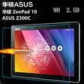 2 Pçs/lote 9 H 2.5D Vidro Temperado Film Protector de Ecrã para Asus ZenPad 10 Z300 Z300C Z300CL Z300CG + Álcool Pano + Poeira absorvedor