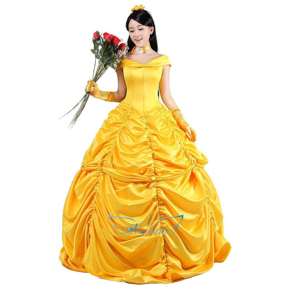 yellow adult princess costume for party clothting in movie tv costumes from novelty special. Black Bedroom Furniture Sets. Home Design Ideas