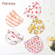 5 piece Baby girls cute Panties cotton baby bragas kids underwear panty toddler panties for children shorts