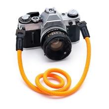 10pcs ไนลอนหนังแฟชั่นบุคลิกภาพกล้องสายเชือกสำหรับกล้อง SLR และ micro single กล้อง