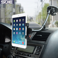 STJIE Universal Car Holder Long Arm ABS Mobile Phone Holder Stand For Iphone 5 5s 6