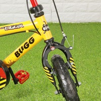 BUGG 12 inch Boys Bicycle Inspire Kids Training Bike Outdoor Riding Toys Gift