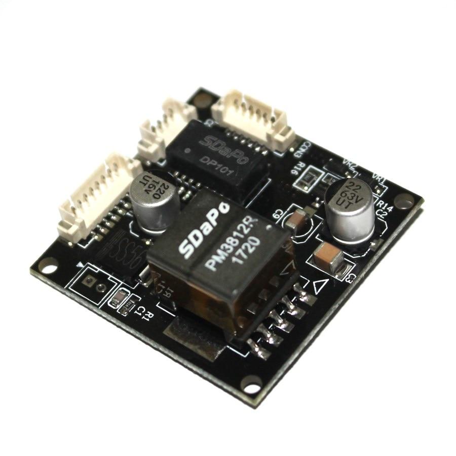 1pcs Module Board For Security CCTV Network IP Cameras Power Over Ethernet Output DC 12V 1A Input 44-57V For Camera