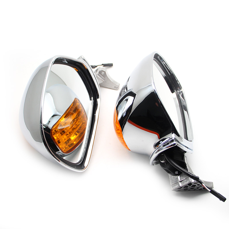 Hot sell Motorcycle Left & Right Rear View Mirrors Turn Signals For Honda Goldwing GL1800 F6B 13 17 2014 2015 2016 2017