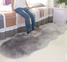 Australia Imitation wool carpet plush door mat Living room coffee table sofa bedroom Bedside rug Bay window