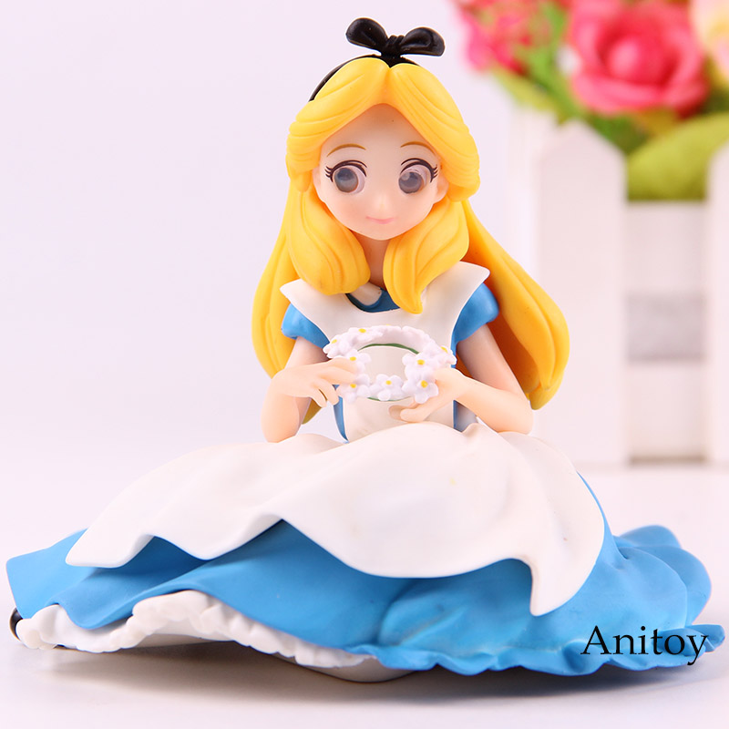 Character Crystalux Alice in Wonderland Alice PVC Figure New No Box