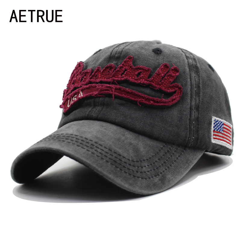 AETRUE Men Baseball Cap Dad Women Snapback Casquette Brand Bone Hats For Men Trucker Hip hop Gorra Fashion Vintage Hat Caps aetrue winter knitted hat beanie men scarf skullies beanies winter hats for women men caps gorras bonnet mask brand hats 2018