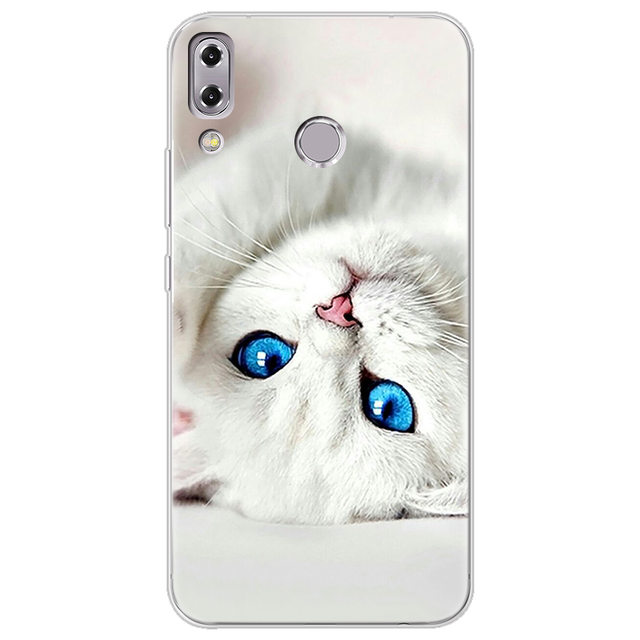 Ultra Thin Cat Printed Silicone Case