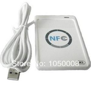 Image 3 - USB ACR122U NFC rfid מגע חכם IC כרטיס/תג וסופר 13.56MHz + 5pcs nfc IC כרטיסי + 1 SDK CD