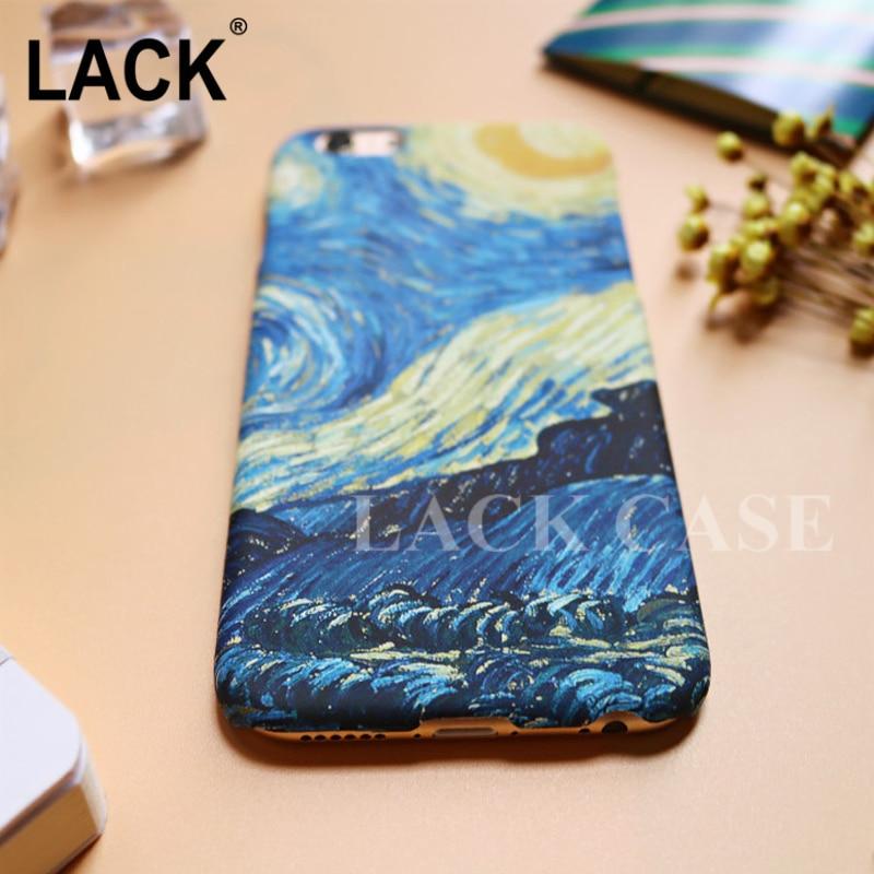 LACK Mode Abstraktionism Art Starry Sky Oljemålning Cover för - Reservdelar och tillbehör för mobiltelefoner - Foto 5
