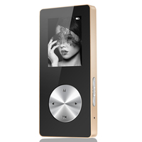 Bluetooth MP3 MP4 Player Full Metal Hifi MP4 Player Sport Mini Walkman With Speaker Support TF