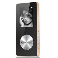 Bluetooth MP3 MP4 Player W Całości z Metalu Hifi Odtwarzacz MP4 Sport Mini Walkman Z Głośników Obsługa Karty TF FM Zegarek Game Recorder Długopis 4