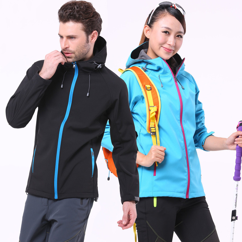 Waterproof Softshell Jacket Men Outdoor Camping Hiking Fleece Jackets Women Rain Jacket Hooded Windbreaker Trekking Fishing CoatWaterproof Softshell Jacket Men Outdoor Camping Hiking Fleece Jackets Women Rain Jacket Hooded Windbreaker Trekking Fishing Coat