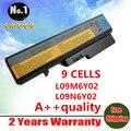 Envío gratis nuevos 9 celdas de la batería del ordenador portátil para LENOVO L09C6Y02 L09L6Y02 L09M6Y02 L09N6Y02 L09S6Y02 L10C6Y02 L10M6F21 L10P6F21