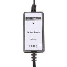 Автомобиль вспомогательный адаптер MP3-плеер Aux кабель Интерфейс Audio линию адаптер для Honda Аксессуары для автомобильной электроники