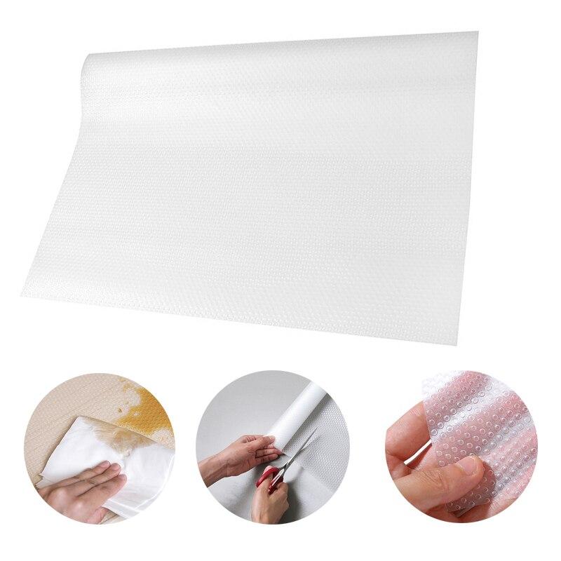 Kitchen Shelf Liner Reviews: Waterproof Kitchen Table Mat Storage Drawers Cabinet Shelf