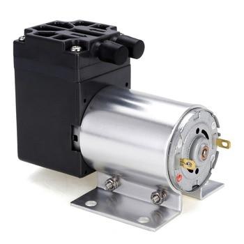 12V 6W Mini Vacuum Pump 5L/min Negative Pressure Suction Air Pump Diaphragm Pump with Holder dc 12v 4w electric mini vacuum air pump negative pressure suction diaphragm vacuum pumps 5l min 80kpa with holder for seperator