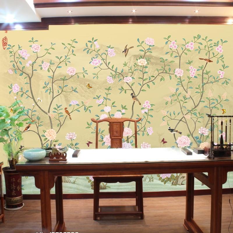 online get cheap chinese bird wallpaper murals -aliexpress