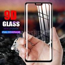 New 9D Tempered Glass Đối Với Huawei Honor 8X Max 8A Ma Thuật 2 Đầy Đủ Bìa Màn Hình Bảo Vệ tempered kính Cho Huawei honor 8A thủy tinh