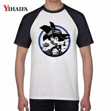 Men Women T Shirts Cartoon 3D Dragon Ball Z Geometric Saiyan Goku Kid Graphic Tees White Anime Tee Tops Unisex T-shirt men women t shirts cartoon 3d dragon ball z geometric saiyan goku kid graphic tees white anime tee tops unisex t shirt