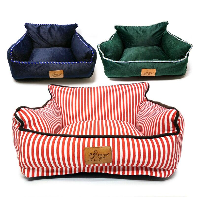 Lits pour chiens de compagnie détachables pour petits chiens dossier imperméable canapé pour chien nid d'animal familier tapis de litière pour chat totoro chiot chat lit fournitures pour animaux de compagnie