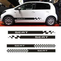 YongXun For Seat Racing Stripes Graphics Stickers Decals Leon Ibiza Cupra Sport DA Er26