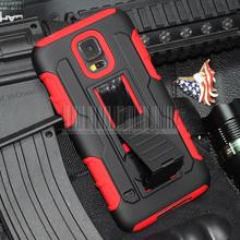 For Samsung Galaxy S5 S V I9600 Case Protective Armor Impact Hard Case Cover With Belt Clip G900 SM-900