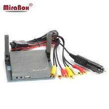 MiraBox 5G HDMI + CVBS Voiture WiFi Mirrorlink Boîte avec Prise Allume-cigare pour la Voiture WiFi Affichage/Airplay/écran Miroir/Miracast