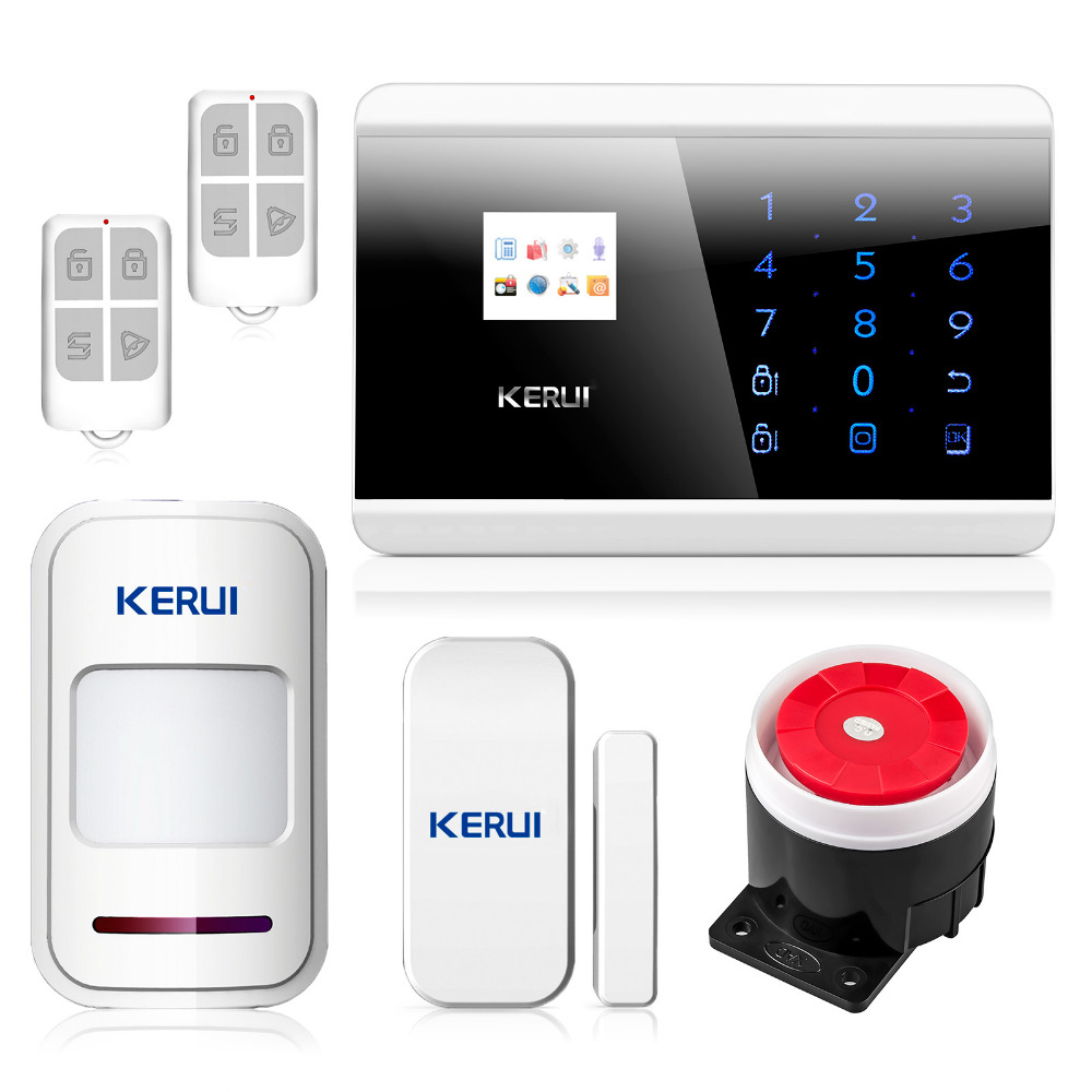 English Russian French Voice Latest DIY Touch keypad TFT color Display GSM&PSTN Dual Net Home Security System Alarm free shipping 850 900 1800 1900mhz english russian voice dual net touch keypad lcd display gsm pstn net security system alarm