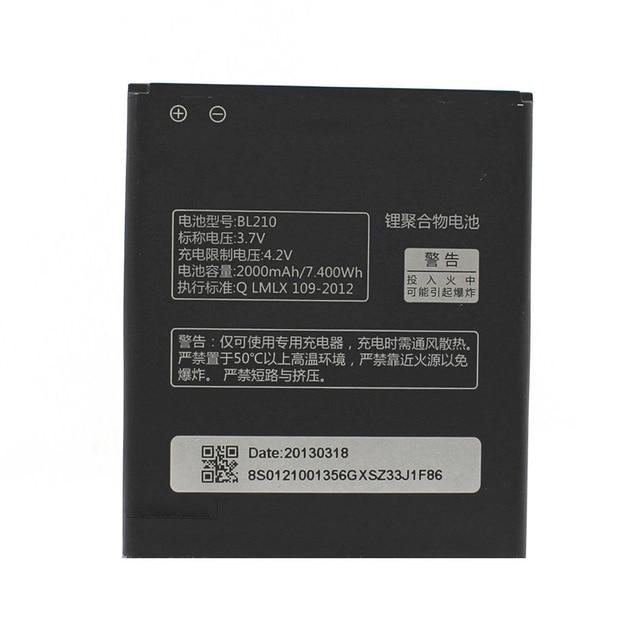 En Stock BL210 batería para Lenovo A536 A606 S820 S820E A750E A770E A656 A766 A658T S650 teléfono móvil Bateria + número de seguimiento número