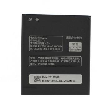 In Stock BL210 Battery For Lenovo A536 A606 S820 S820E A750E A770E A656 A766 A658T S650 Cellphone Bateria+Tracking Number аккумулятор nano tech аналог bl 210 2000mah для lenovo s820 s650 a656 a766