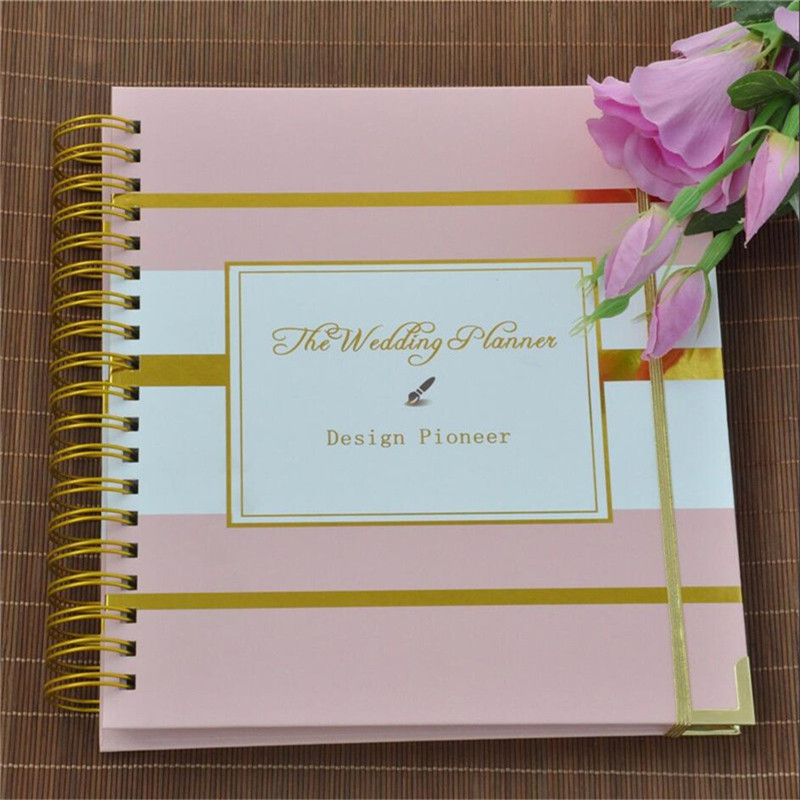 Wedding gift The Wedding Planner Wedding Guest Book Engagement Gift ...