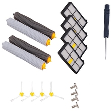 Roomba 800 Series Replacement Kit Include Tangle-Free Debris Extractor Set & Side Brushes & Hepa Filters For Roomba 870 880 98 ntnt free post new 3 x hepa filter filters for irobot roomba 800 series 870 880