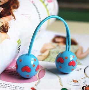 Neue Styling-Tools Love Ball elastische Haarbänder Kopfbedeckungen - Bekleidungszubehör - Foto 6