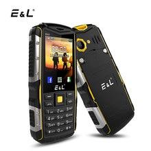 E & L S600 Stoßfest Handy 2,4 Zoll 32 MB RAM 32 MB ROM Dual SIM Karten IP68 Wasserdicht staubdicht Robuste 2G GSM Handy Entsperrt