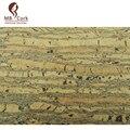"Portuguese cork stripe cork fabric Cork leather, plus Anti-wear Antifouling waterproof Natural 68x50cm / 27.50""x20"", COF-02"