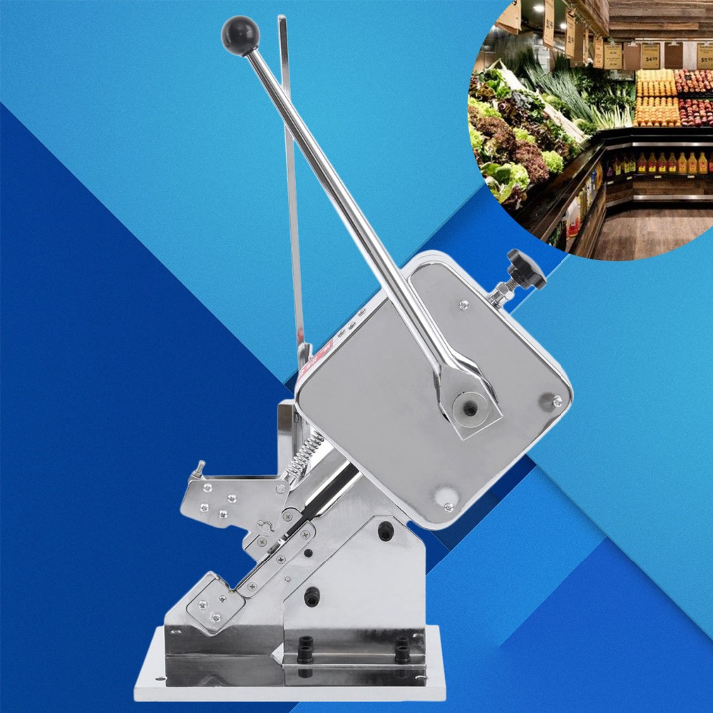(Ship from EU) Home Business Manual U-shape Sausage Clipper Clipping Machine Tightening Tying sausage making equipment u shape sausage clipping machine manual sausage clipper machine price