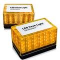48 CONDUZIU a Luz de Tráfego Polícia Auto Telhado Do Flash Strobe Emergência Magnético de Lâmpadas LED para Automóveis Luzes Diurnas Azul/vermelho/Amarelo