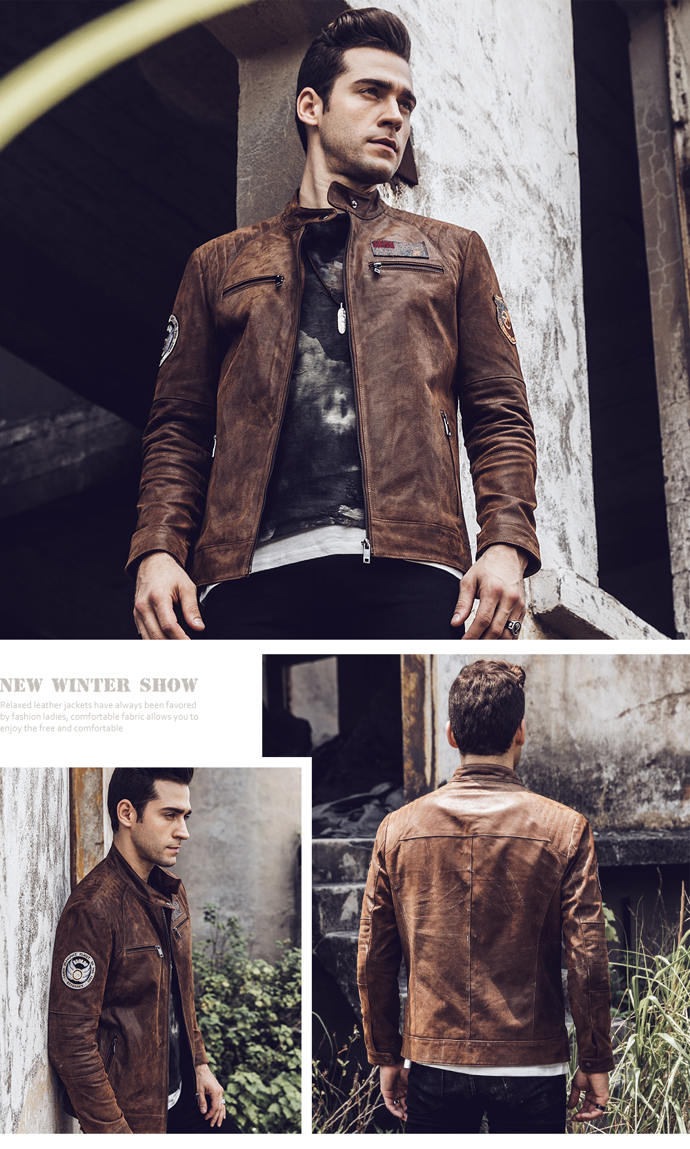 Men's Clothing Genuine Leather Coats Retro Vintage Leather Jacket Mens Cowskin Leather Us Air Force Pilot Leather Jacket 2018 Winter New Leather Coat Male Long Performance Life