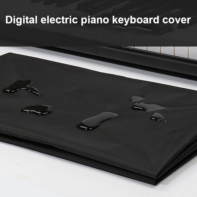 Electronic Digital Piano Keyboard Cover Dustproof Durable Foldable For 88 61 Key 669