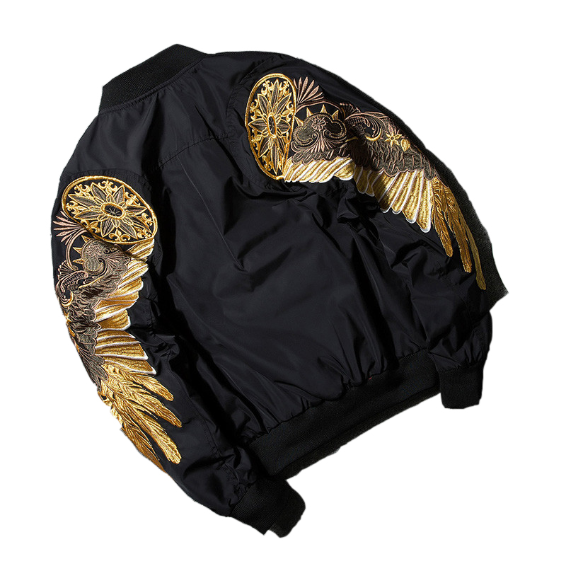 Дропшиппинг 2018 Весна Золотое крыло куртка мужская