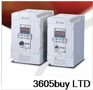 New original motor drive 1phase Delta Frequency converter VFD007L21A 220V 750W 1HP 4.2A 400HZ