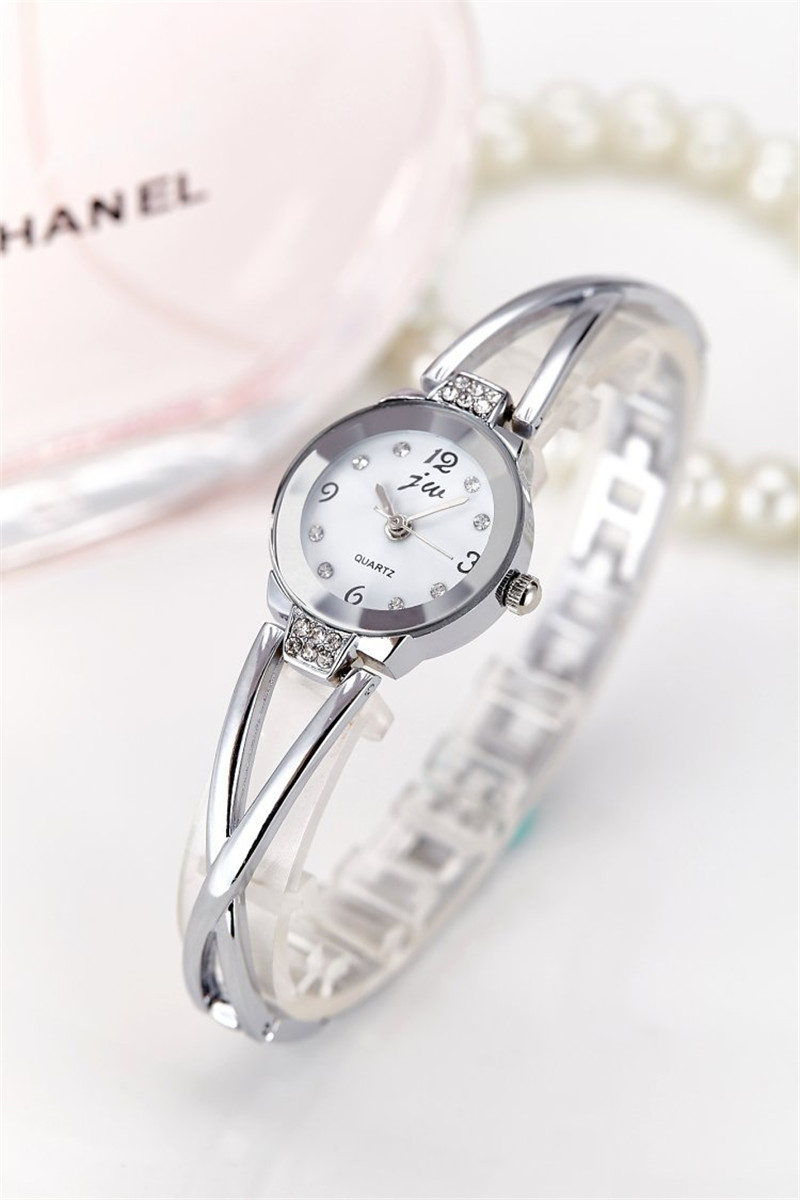New Fashion Rhinestone Watches Women Luxury Brand Stainless Steel Bracelet watches Ladies Quartz Dress Watches reloj mujer Clock 20