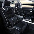 3D Pelúcia Inverno Almofada Tampa de Assento Do Carro Para Renault Koleos Laguna Megane Scenic Fluence Latitud cc Talismã, Carro-cobre