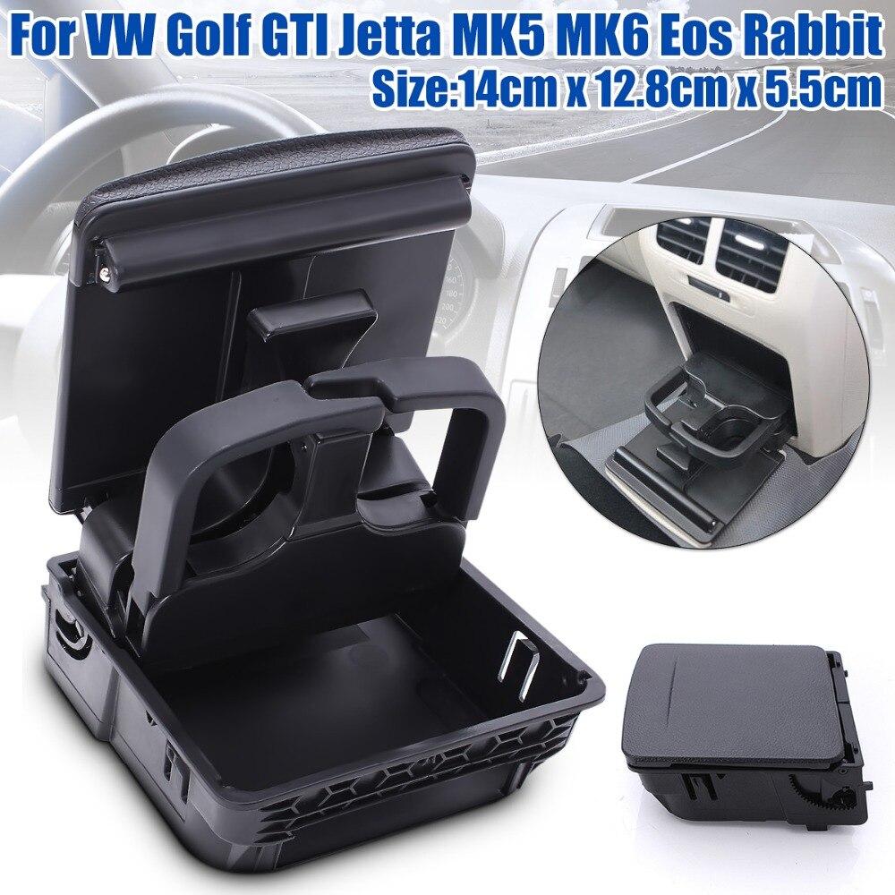 Nouvelle Console Centrale Accoudoir Arrière Porte-Gobelet de Boisson Pour VW/Jetta MK5 5 Golf MK6 6 MKVI 1K0 862 532 C