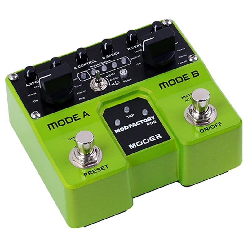 MOOER effets pédale de guitare Mod Factory Pro 2 Modules de traitement indépendants contenant un Total de 16 pédale de guitare à Modulation