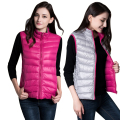 Tengo Down Jacket Female Thin All-match Vest Slim Casual Waistcoat Women