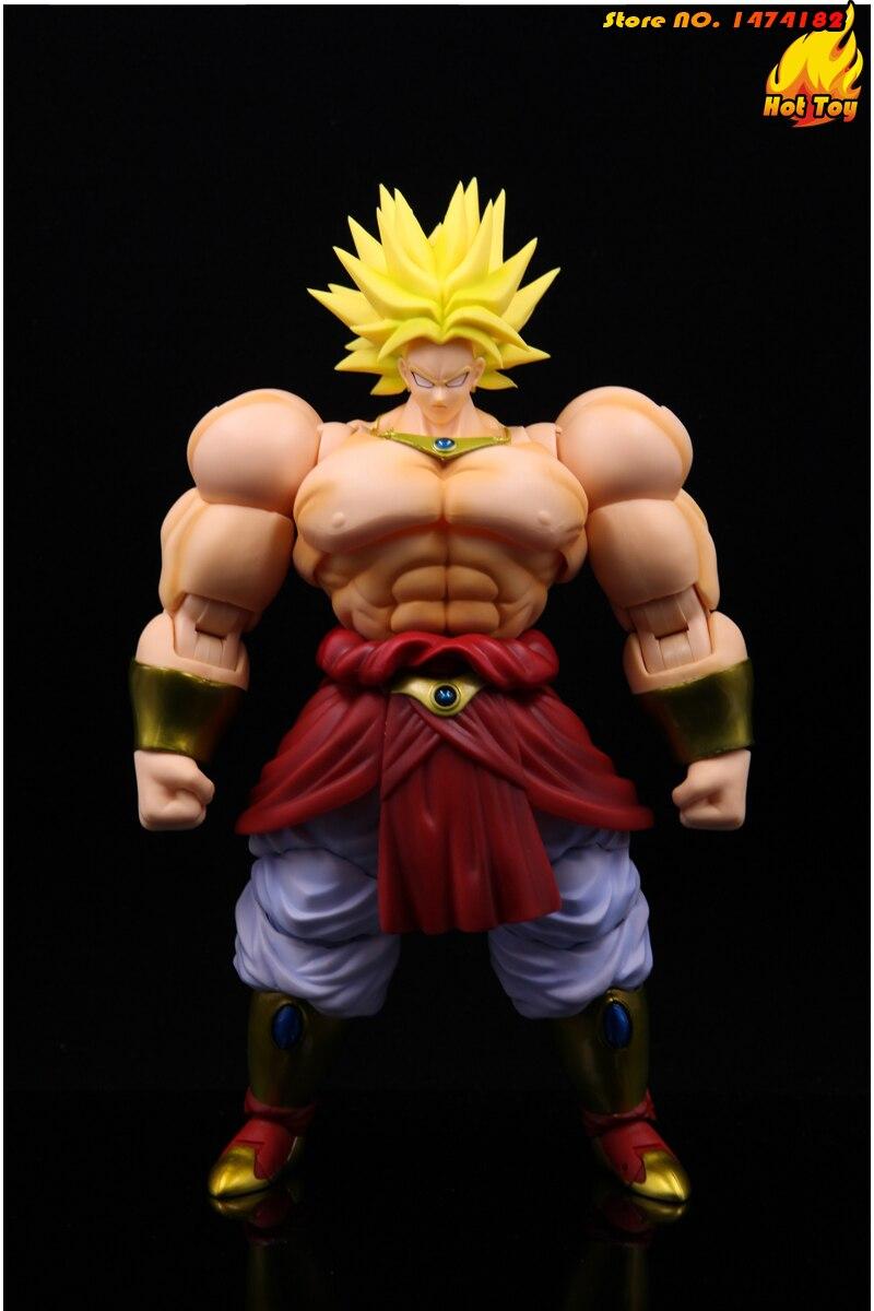 "100% figurine originale BANDAI Tamashii Nations S. H. Figuarts (SHF) Super Saiyan Broly de ""Dragon Ball Z""-in Jeux d'action et figurines from Jeux et loisirs    2"