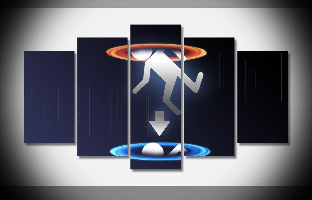 La corporación de la válvula portal portal2 videojuegos Ya No Enmarcado Galería